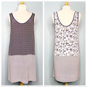 Joie   Front and Back Reversible Silk Dress